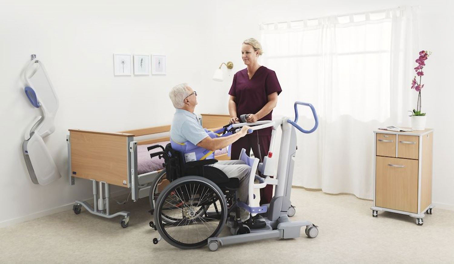 Promoting mobility amongpatients and residents in care facilities is critical for healthy daily lives